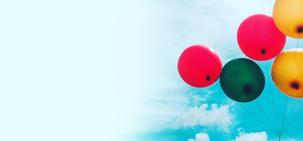 negozio palloncini