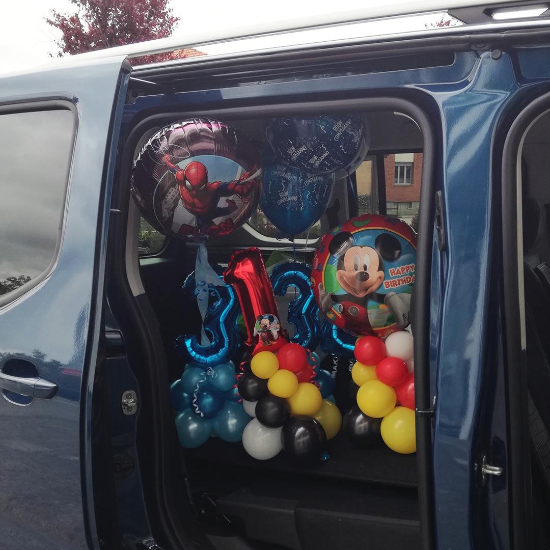 consegna palloncini